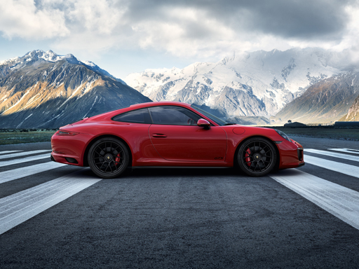 Driven for more. The new 911 GTS models.